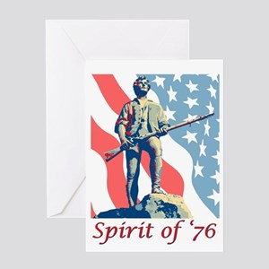 Spirit of '76 Greeting Cards