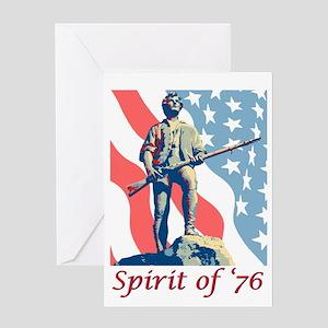 Spirit of '76 Greeting Cards