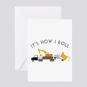 It's How I Roll Greeting Cards