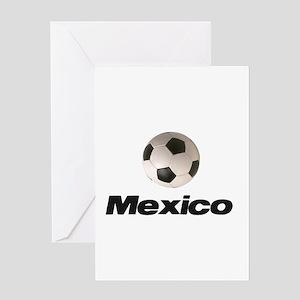 Soccer Football Mexico Greeting Card
