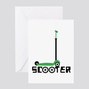 SCOOTER Greeting Cards