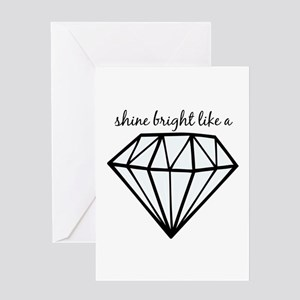 Shine Bright Like a Greeting Cards