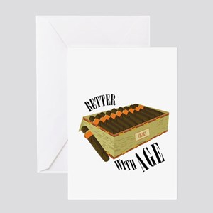 Better With Age Greeting Cards