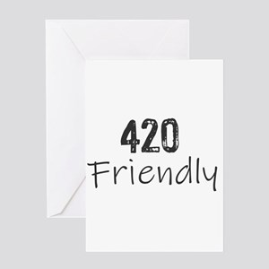 420 Friendly Greeting Cards