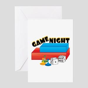 Game Night Greeting Cards