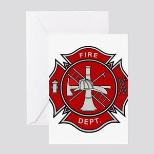 Fire Dept. Greeting Cards