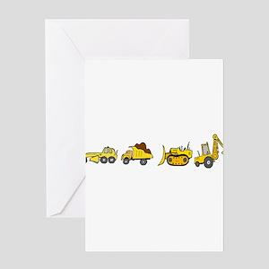 Trucks! Greeting Cards