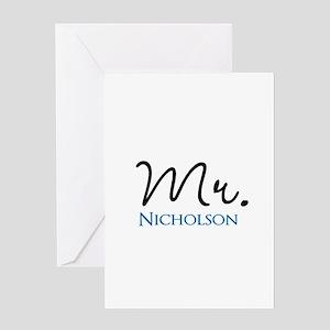 Customizable Name Mr Greeting Card