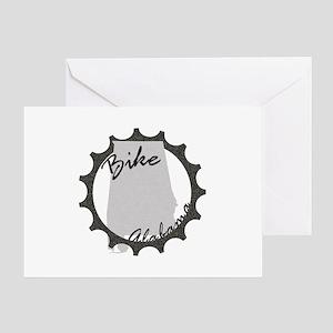 Bike Alabama Greeting Card