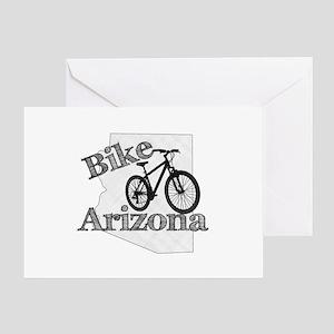 Bike Arizona Greeting Card