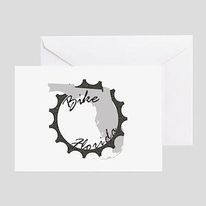 Bike Florida Greeting Card