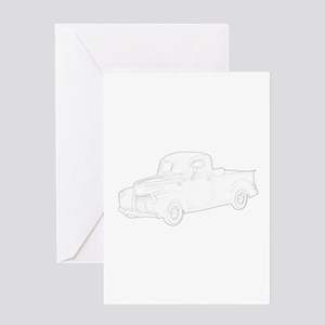 Ford Pickup 1940 Greeting Card