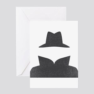 Secret Agent Spry Spy Guy Greeting Card