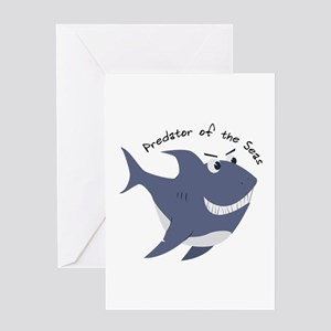 Predator Of The Seas Greeting Cards