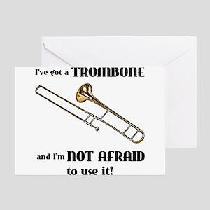 I've Got A Trombone Greeting Cards