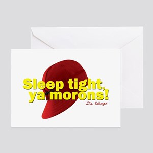 Sleep Tight, Ya Morons! Greeting Card