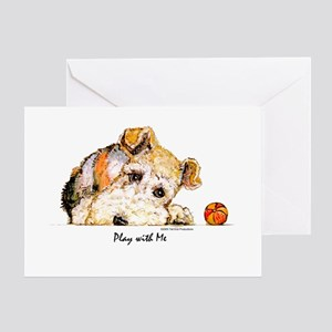 Wire Fox Terrier Greeting Cards