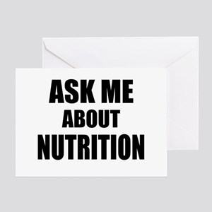 Ask me about Nutrition Greeting Cards