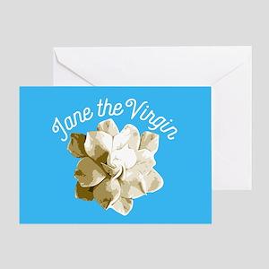 Jane The Virgin Flower Greeting Cards