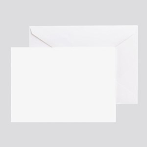 Pink Seven Greeting Card