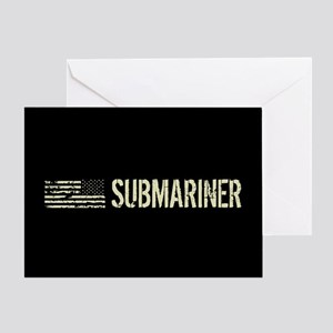 U.S. Navy: Submariner Greeting Card