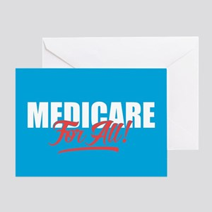 Medicare For All Greeting Cards