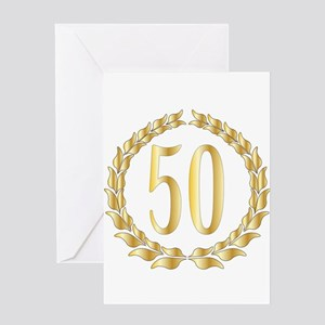 50th Anniversary Greeting Cards