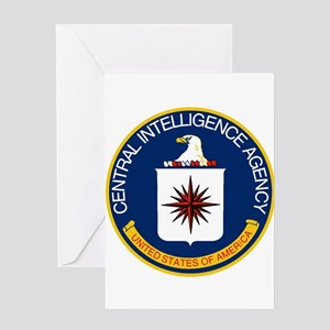 CIA Logo Greeting Cards