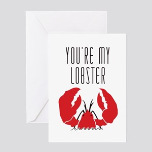 Friends: You Are My Lobster Greeting Cards