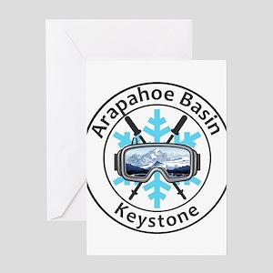 Arapahoe Basin - Keystone - Color Greeting Cards