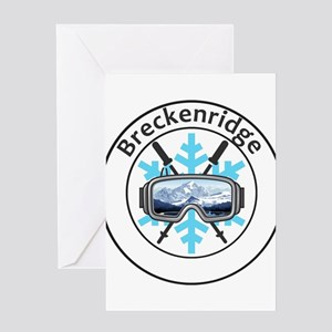 Breckenridge Ski Resort - Brecken Greeting Cards