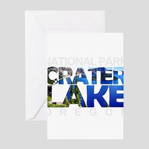 Crater Lake - Oregon Greeting Cards