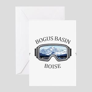 Bogus Basin - Boise - Idaho Greeting Cards