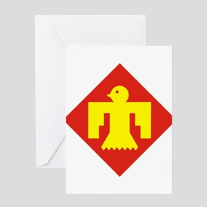 45th Infantry Division Greeting Cards