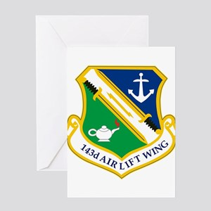 143rd Airlift Wing Greeting Cards