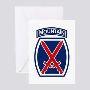 10th Mountain Division Greeting Cards