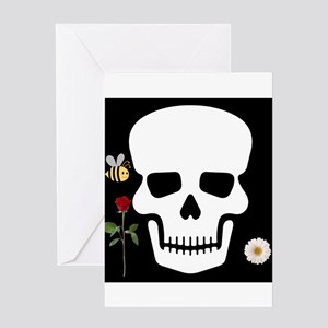 Abby Skull Greeting Cards