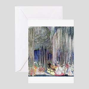 Kay Nielsen - Twelve Dancing Princes Greeting Card