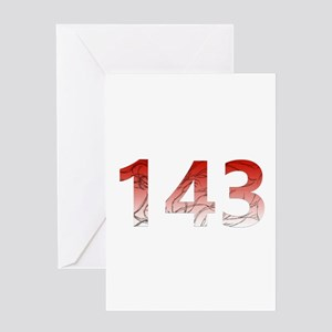 143 Greeting Cards