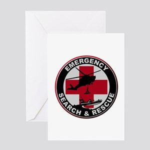 Emergency Rescue Greeting Cards