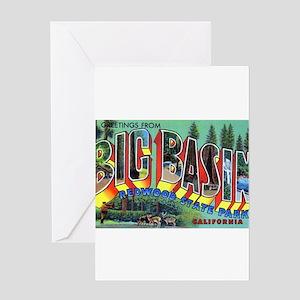 Redwood Big Basin Greetings Greeting Card