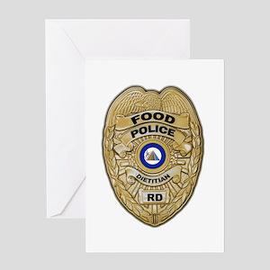 Food Police Greeting Card