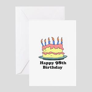 Happy 98th Birthday Greeting Card