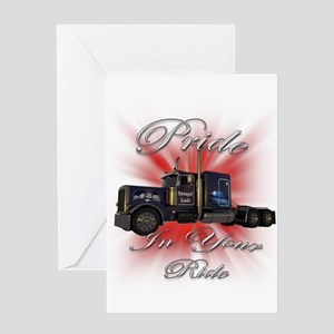 Pride In Ride 1 Greeting Card