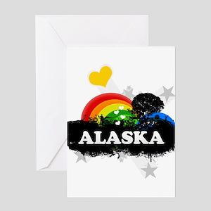 Sweet Fruity Alaska Greeting Card