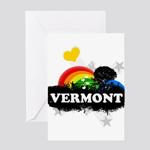 Sweet Fruity Vermont Greeting Card