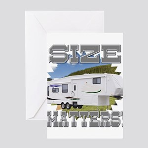 Size Matters Fifth Wheel Greeting Card
