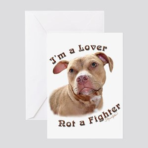 I'm a Lover Greeting Card