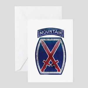 10th Mountain Division - Clim Greeting Card