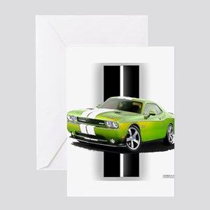 New Challenger Green Greeting Card